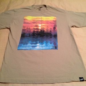 Van Off the Wall T Shirt Size Med EUC